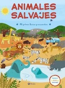 Libro: Mi primer Busca y encuentra. Animales salvajes - VV. AA.