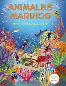 Libro: Mi primer Busca y encuentra. Animales marinos - VV. AA.