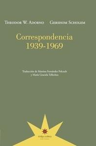Libro: Correspondencia  1939 - 1969 - Adorno, Theodor W