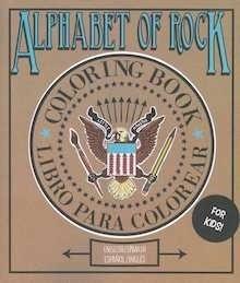 Libro: Alphabet of rock. Libro de colorear - VV. AA.