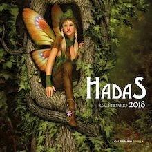 Libro: Calendario Hadas 2018 - VV. AA.