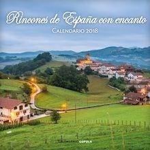 Libro: Calendario Rincones de España con encanto 2018 - VV. AA.