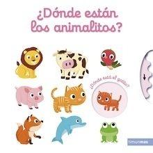 Libro: ¿Dónde están los animalitos? - Choux, Nathalie