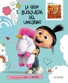 Libro: Gru 3: La gran búsqueda del unicornio - Studios Licensing, Universal