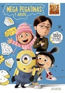 Libro: GRU 3: MEGA PEGATINAS Y JUEGOS - Studios Licensing, Universal