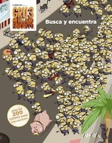 Libro: GRU 3: BUSCA Y ENCUENTRA - Studios Licensing, Universal