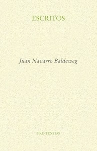 Libro: Escritos - Navarro Baldeweg, Juan