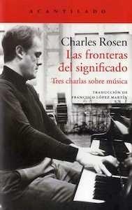 Libro: Las fronteras del significado - Rosen , Charles: