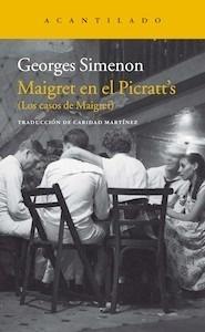 Libro: Maigret en el Picratt's - Simenon, Georges
