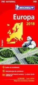 Libro: Mapa EUROPA  -2018-   1:3000000 -