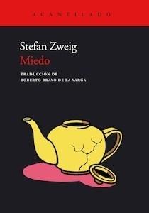 Libro: Miedo - Zweig, Stefan