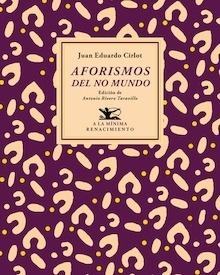 Libro: Aforismos del no mundo - Cirlot, Juan Eduardo