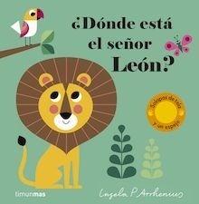 Libro: ¿Dónde está el señor León? - P. Arrhenius, Ingela