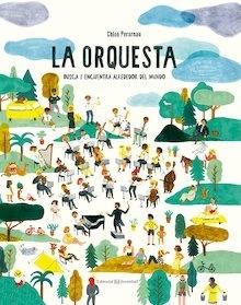 Libro: La orquesta 'busca y encuentra alrededor del mundo' - Perarnau, Chloé