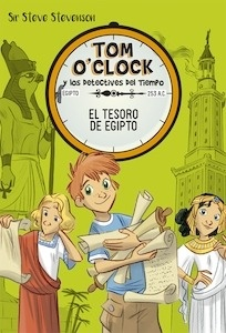 Libro: Tom O'Clock 5. El tesoro de Egipto - Sir Steve Stevenson