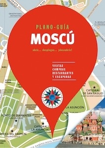 MOSCÚ  (Plano - Guía)  -2018- - ., .