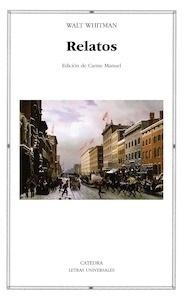 Libro: Relatos - Whitman, Walt