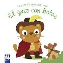 Libro: El gato con botas 'Cuentos clásicos para tocar' - Yoyo