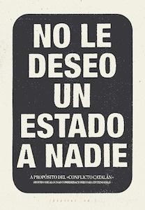 Libro: No le deseo un Estado a nadie - Lopez Petit, Santiago