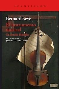 Libro: El instrumento musical - Sève, Bernard