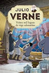 Libro: Veinte mil leguas viaje submarino - Verne, Julio