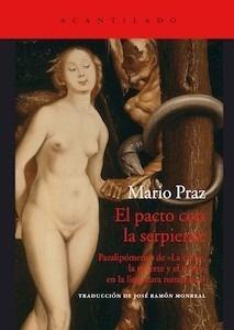 Libro: El pacto con la serpiente - Praz, Mario