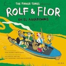 Libro: Rolf & Flor en el Amazonas   +CD - The Pinker Tones