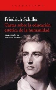 Libro: Cartas sobre la educación estética de la humanidad - Schiller, Friedrich