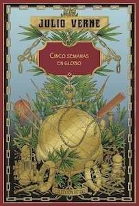 Libro: Cinco semanas en globo (Hetzel) - Verne, Julio