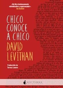 Libro: Chico conoce a chico - Levithan, David