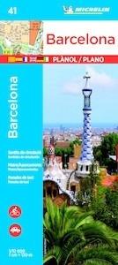 Libro: BARCELONA  (Plano)  1/12000 - Michelin