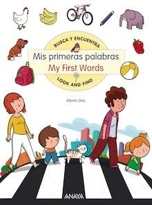 Libro: Mis primeras palabras / My First Words - Díaz, Alberto