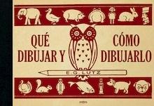 Libro: QUÉ DIBUJAR Y CÓMO DIBUJARLO - Lutz, Edwin George