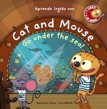 Libro: Cat and Mouse, Go under the sea! - Husar, Stéphane