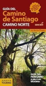 Libro: Guía del Camino de Santiago. Camino Norte  -2018- - Pombo Rodríguez, Antón