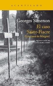 Libro: El caso Saint-Fiacre - Simenon, Georges