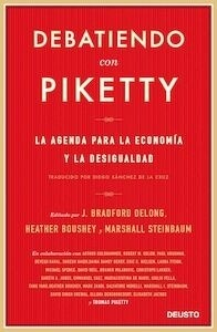 Libro: Debatiendo con Piketty - Boushey, Heather