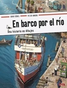 Libro: En barco por el río. Una historia en dibujos. - Göbel, Doro