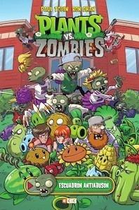 Libro: Plants vs. Zombies: Escuadrón antiabusón - Paul Tobin