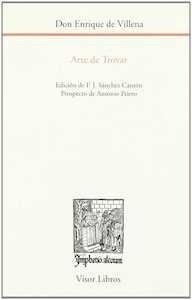 Libro: Arte de Trovar. Vol.0 '. EDICION DE F.J. SANCHEZ CANTON. PROSPECTO DE ANTONIO PRIETO.' - Villena, Enrique De: