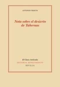 Libro: Nota sobre el desierto de Tabernas - Prieto, Antonio