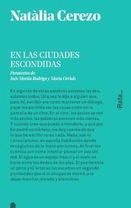 Libro: En las ciudades escondidas - Cerezo, Natàlia