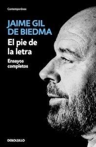 Libro: El pie de la letra - Gil De Biedma, Jaime