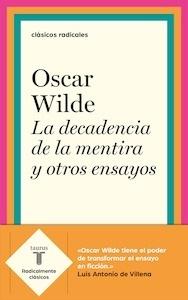 Libro: La decadencia de la mentira y otros ensayos - Wilde, Oscar