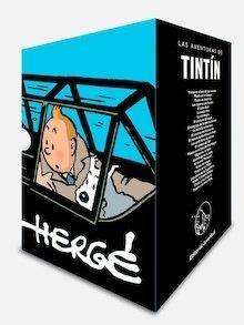 Libro: Cofre Aniversario Tintín   (24 volúmenes) - Herge (Seud. De Georges Remy)