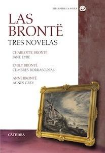Libro: Las Brontë. Tres novelas 'Jane Eyre  /  Cumbres borrascosas  /  Agnes Grey' - Bronte, Charlotte