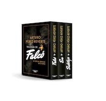 Libro: Trilogía de Falcó (edición estuche con: Falcó, Eva, Sabotaje) - Perez Reverte, Arturo